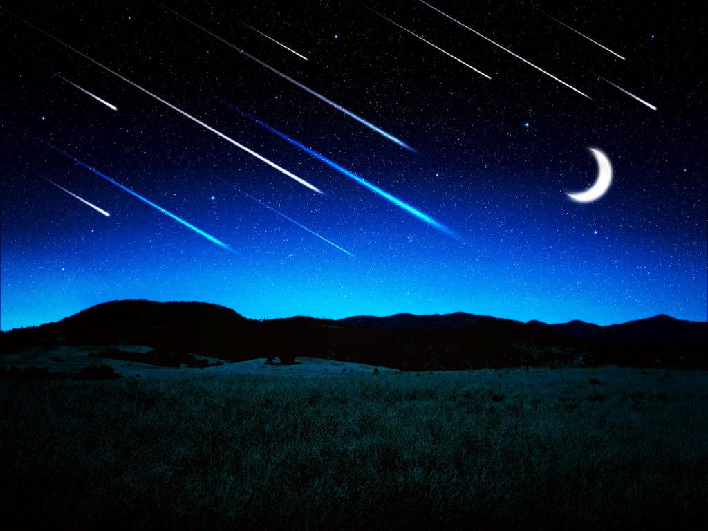 流星群のイメージ